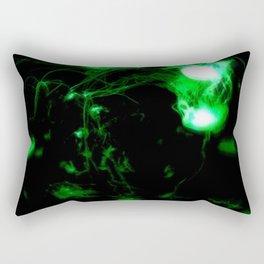Jellyfish Swirl Rectangular Pillow