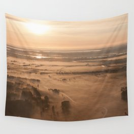 Misty SunRise Wall Tapestry