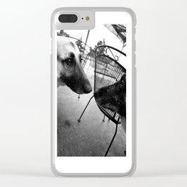 Timeless Love Clear iPhone Case