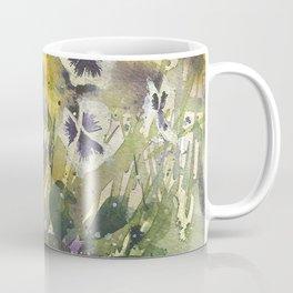 Pansies Coffee Mug