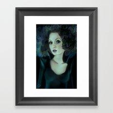 Night portrait Framed Art Print