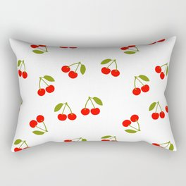CHERRY CHERRIES FRUIT FOOD PATTERN Rectangular Pillow
