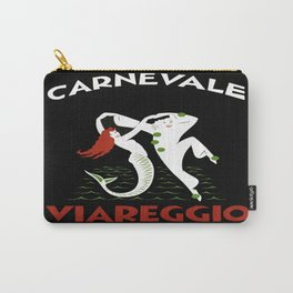 Viareggio Italy - Vintage Travel Carry-All Pouch