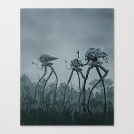war of the worlds Canvas Print