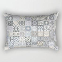 Moroccan Tile Mosaic Rectangular Pillow