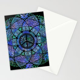 Love, Peace and Happiness Stationery Cards