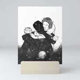 Your only saver.  Mini Art Print