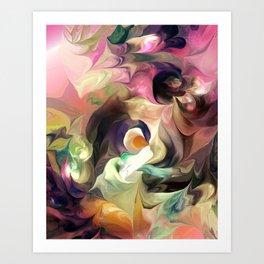 Abstract 031612 Art Print
