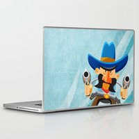 dwight Laptop & iPad Skins featuring Dwight McStetson by Rabassa