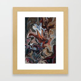 Caffine High Framed Art Print
