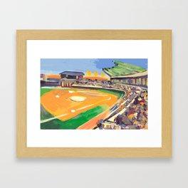 LSU Softball Framed Art Print