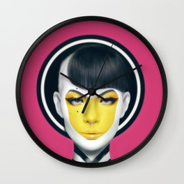 """YELL."" Wall Clock"