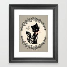 SophistiCat Framed Art Print