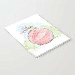Bunny on a Ball Notebook