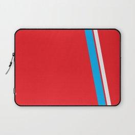 Red Slant Laptop Sleeve