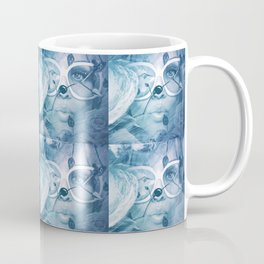 Who's gonna ride your wild horses, who's gonna drown in your blue ... Coffee Mug
