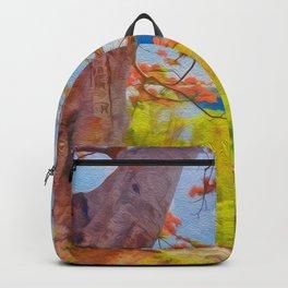 Fire Tree - Digital Manipulation Backpack