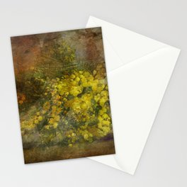 Mimosa Flowers Stationery Cards