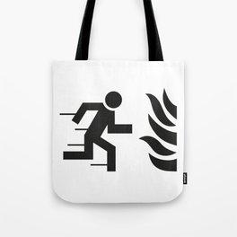 Notausgang Tote Bag