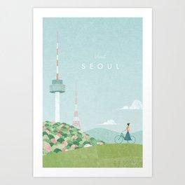Seoul Art Print