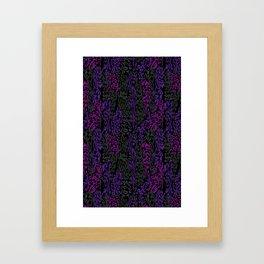 Unique Leopard Print Framed Art Print