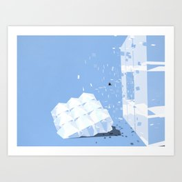 accepting life as it is: the sky Art Print