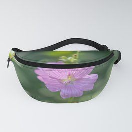 Soft pink wildflower Fanny Pack