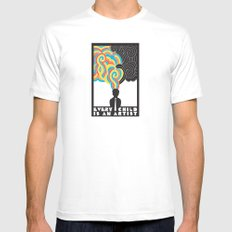 Every Child Is An Artist Mens Fitted Tee MEDIUM White