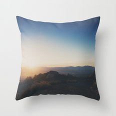 mountain road ... Throw Pillow