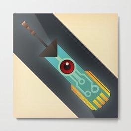 The Transistor Metal Print