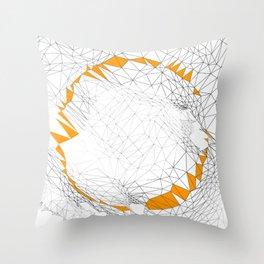M_ Throw Pillow