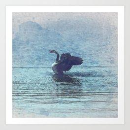 Canada Goose Watecolor Art Print