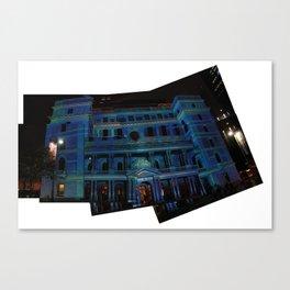 vivid lightshow Canvas Print