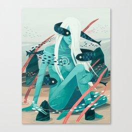 Heavy water Canvas Print