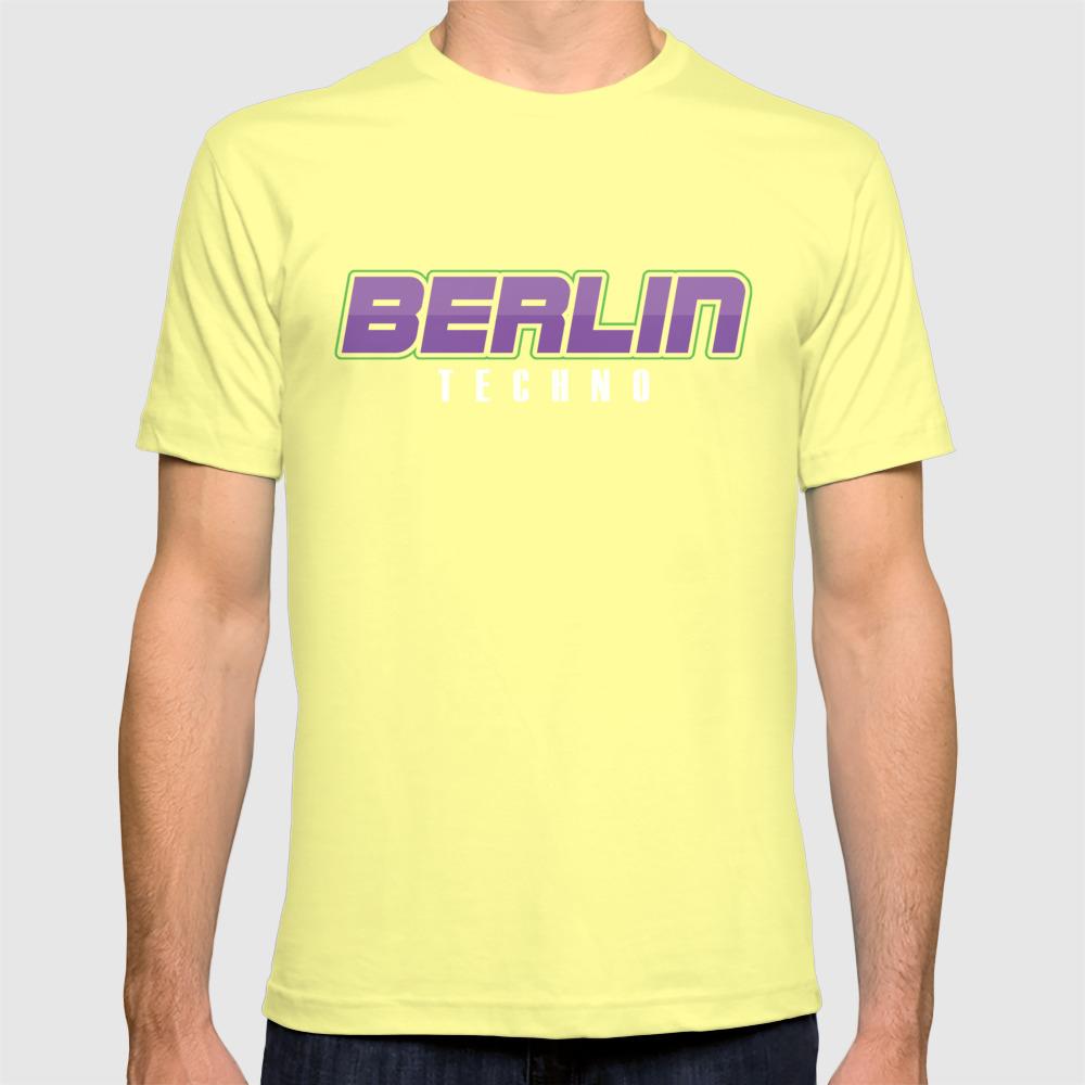Berlin Techno Music Techno Station Travel Music Lovers EDM Electronic Dance  Gift T-shirt