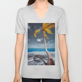 Summer Beach Unisex V-Neck