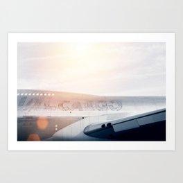 Cargo Plane Art Print