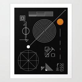 Cohesion Theory Art Print