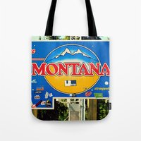 montana Tote Bags featuring Montana by americansummers