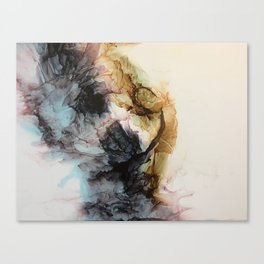 Waves of Emotion Canvas Print