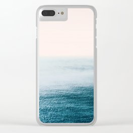 Ocean Fog Clear iPhone Case