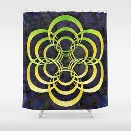 Portalattice Shower Curtain