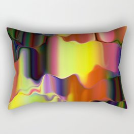 Dripping Paint Rectangular Pillow