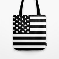 flag Tote Bags featuring Flag by loveme