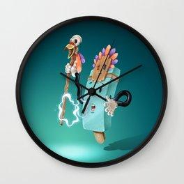 Icey Shaman Wall Clock