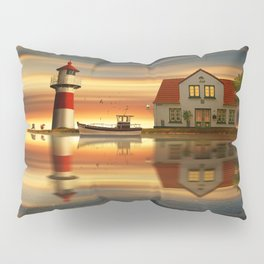 The idyll at the house of the lighthouse keeper Pillow Sham