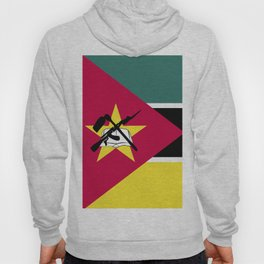 Mozambique flag emblem Hoody