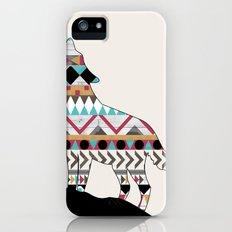 Wild Soul - Aztec Navajo Wolf iPhone (5, 5s) Slim Case