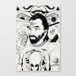 Van Joe Canvas Print