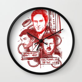 Deadly Trio Wall Clock